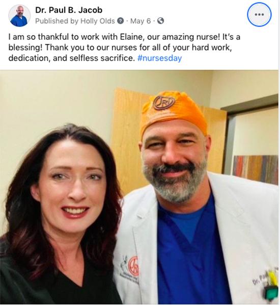 Inspiring Patients on Social Media